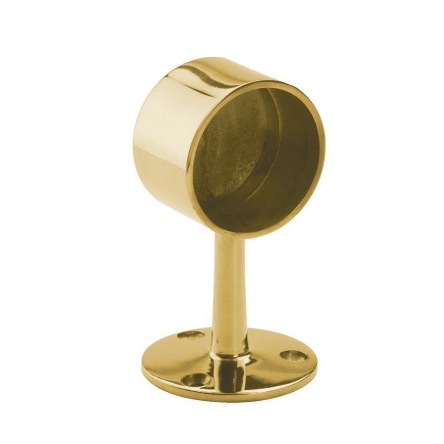 LIDO Designs 6-Pack Polished Brass Line Brackets