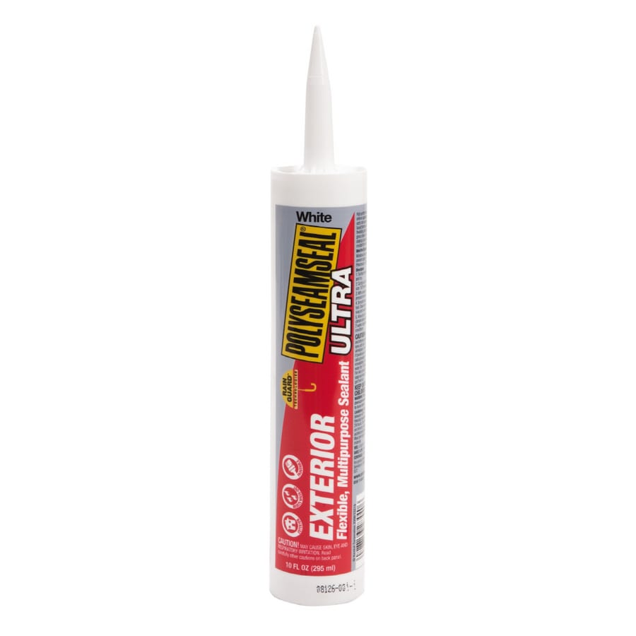LOCTITE Polyseamseal 10-oz White Paintable Latex Window and Door Caulk