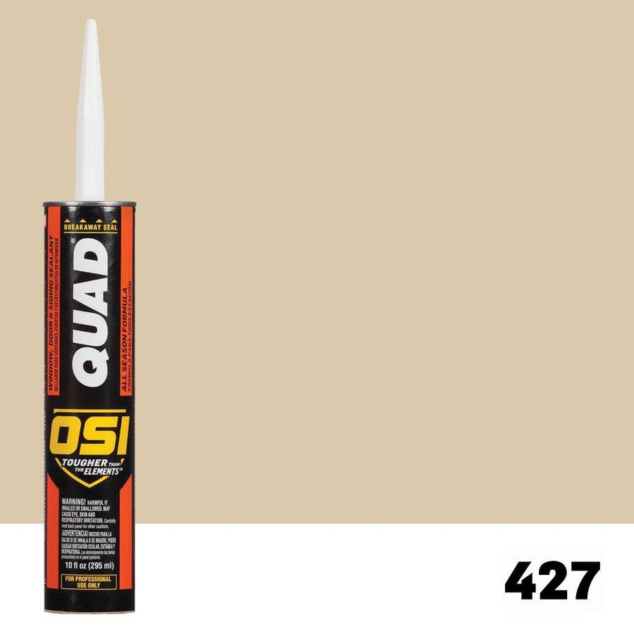 OSI QUAD QUAD-Pack 10-oz Almond  Paintable Caulk