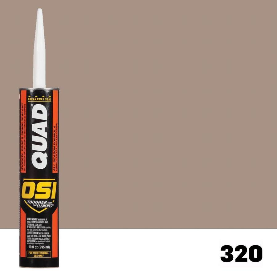 OSI QUAD QUAD 10-oz Clay Paintable Caulk