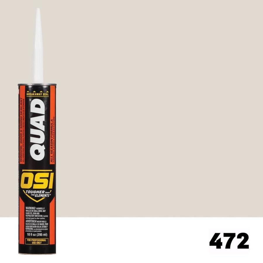 OSI QUAD QUAD-Pack 10-oz Almond  Paintable Caulk
