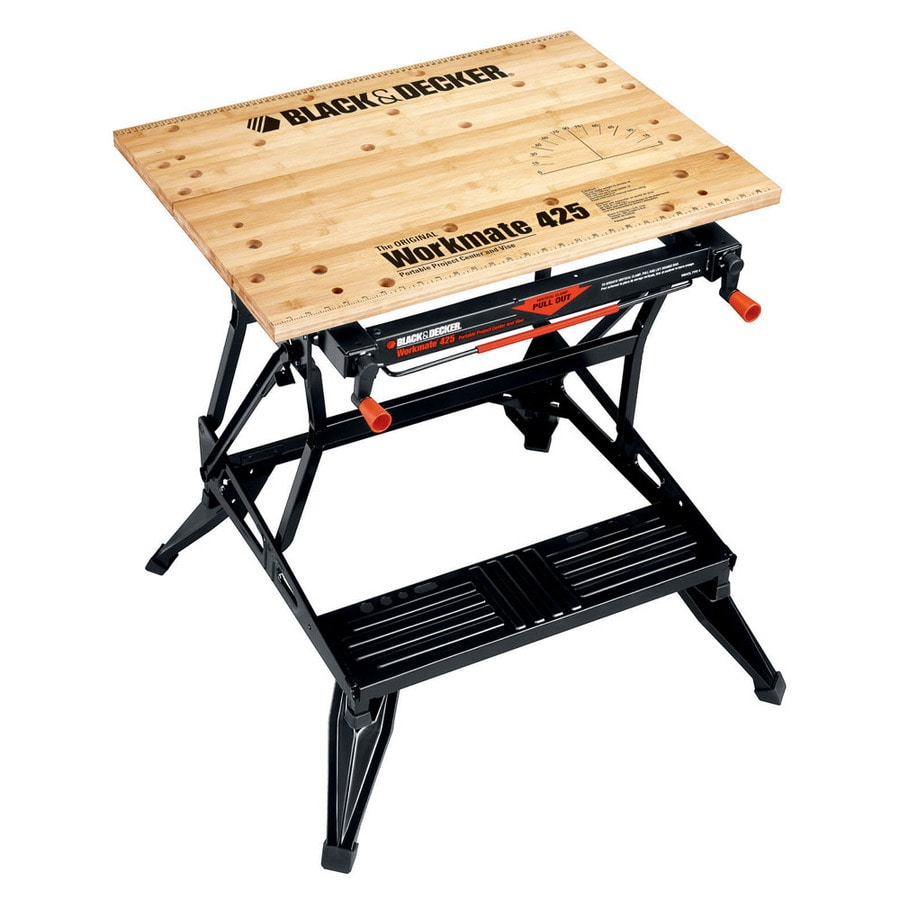 Shop Black Decker 7 In W X 30 In H Adjustable Wood Work Bench At