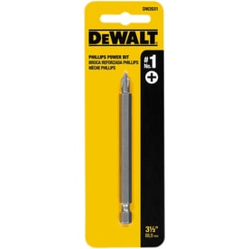 DEWALT 3-1/2-in Set Phillips Steel Hex Shank Screwdriver Bit