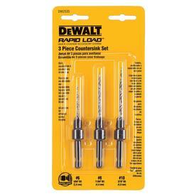 Shop drill bits at lowes dewalt 3 pack high speed steel twist drill bit set greentooth Gallery