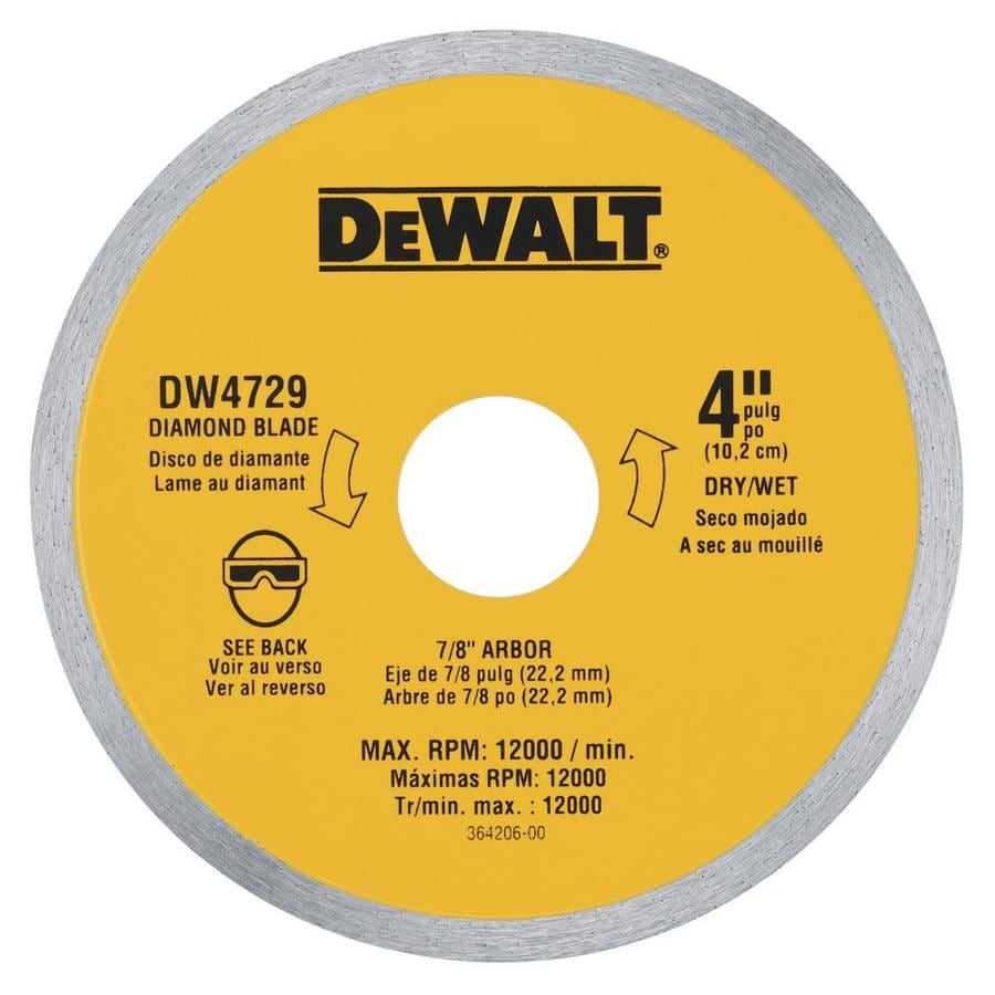 DEWALT Xp Diamond 4-in Diamond Arbor Grinding Wheel
