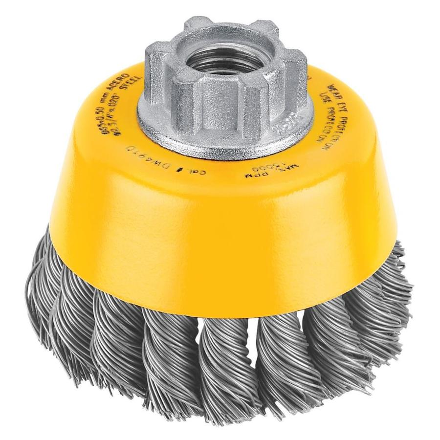 DEWALT 3-in Knotted Cup Brush
