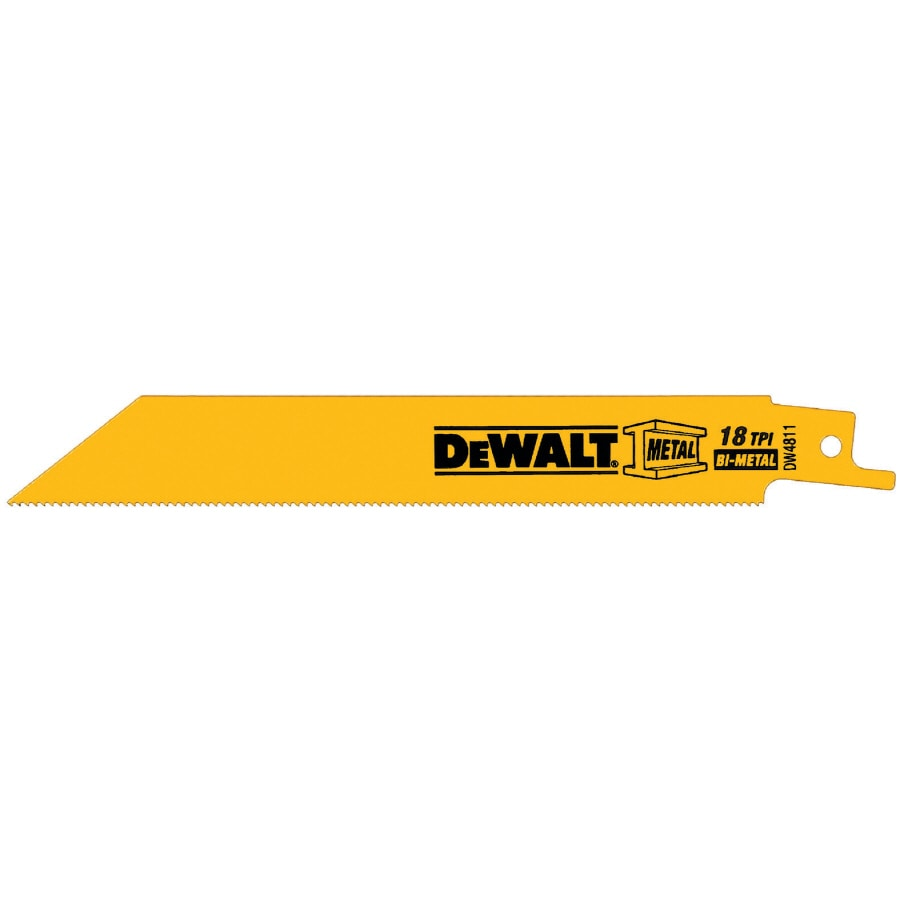 Shop dewalt 6 in 18 tpi bi metal reciprocating saw blade at lowes dewalt 6 in 18 tpi bi metal reciprocating saw blade keyboard keysfo Gallery