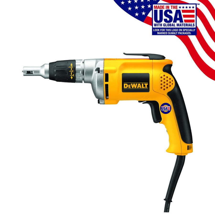 DeWalt® 6.3 Amp Heavy Duty VSR Drywall Screwdriver
