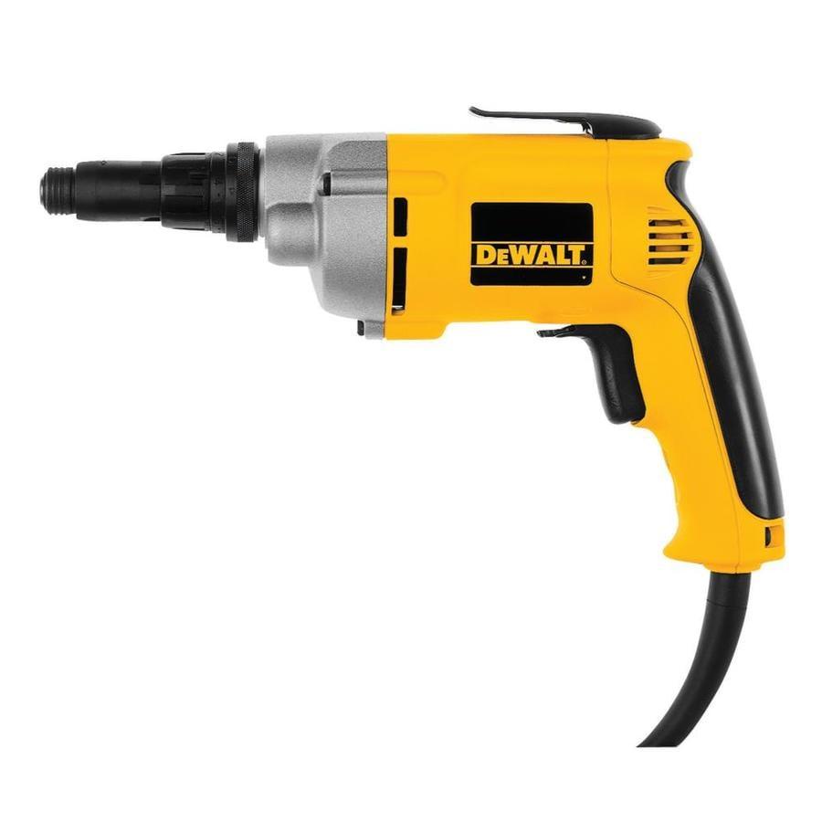 DEWALT 6.5-Amp 1/4-in Keyed Corded Drills