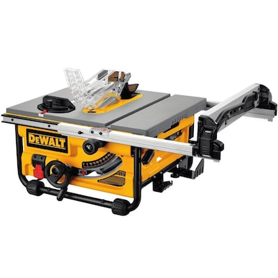 DEWALT 10-in Carbide-tipped Blade 15-Amp Table Saw