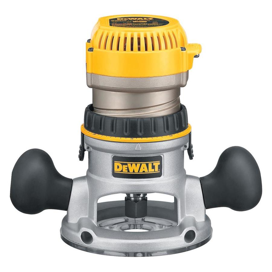DEWALT 1.75-HP Fixed Corded Router
