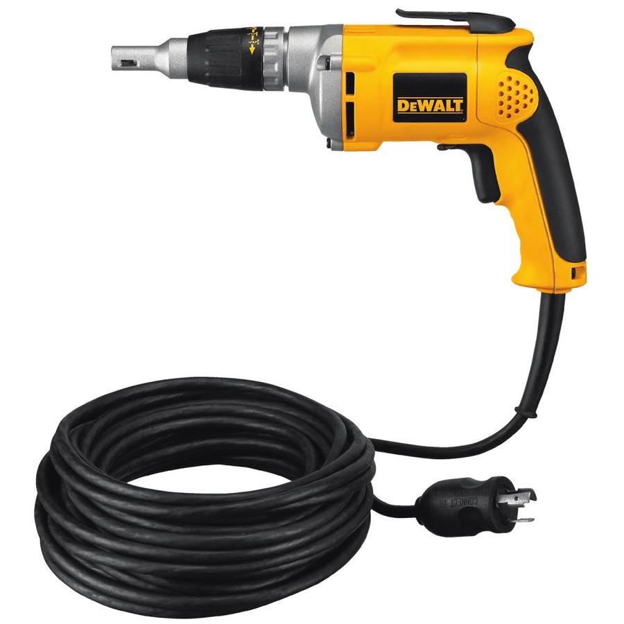 DEWALT 6.3-Amp 1/4-in Keyless Corded Drills