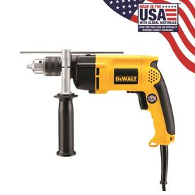 """Dewalt DW511 1/2"""" VSR Single Speed Hammerdrill with 7.8 Amp Motor and Dual Modes"""