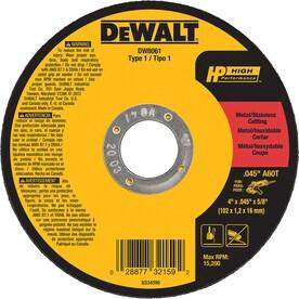 DeWalt  DW8061 4u0022 Cutting Wheel