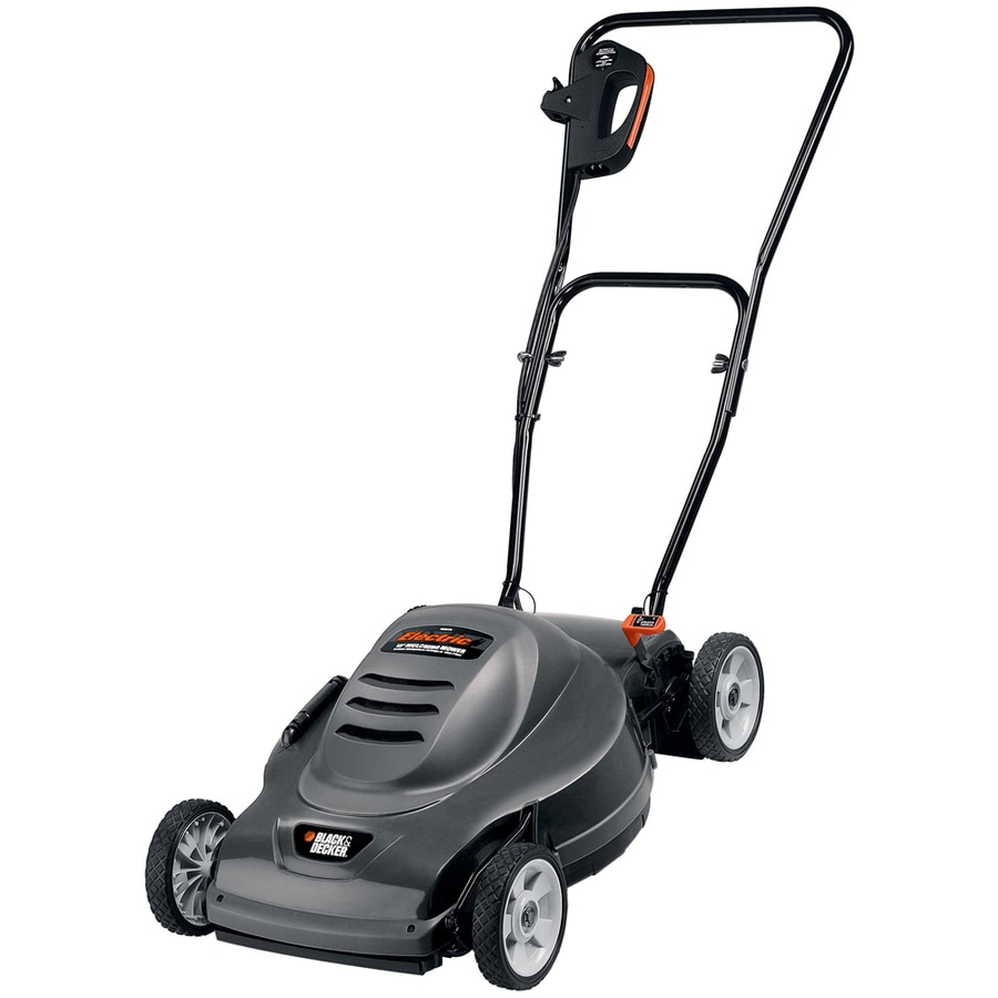 BLACK & DECKER 9-Amp 20-in Deck Width Push Corded Electric Push Lawn Mower with Mulching Capability