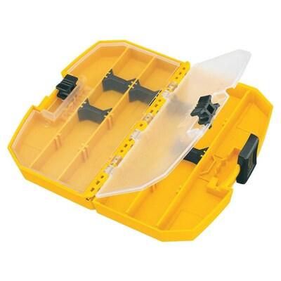 DEWALT 6-Compartment Plastic Small Parts Organizer at Lowes com
