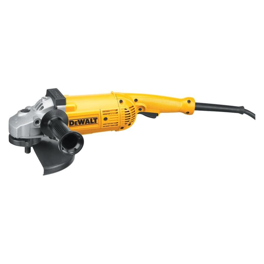 DEWALT 9-in 15-Amp Toggle Switch Corded Angle Grinder
