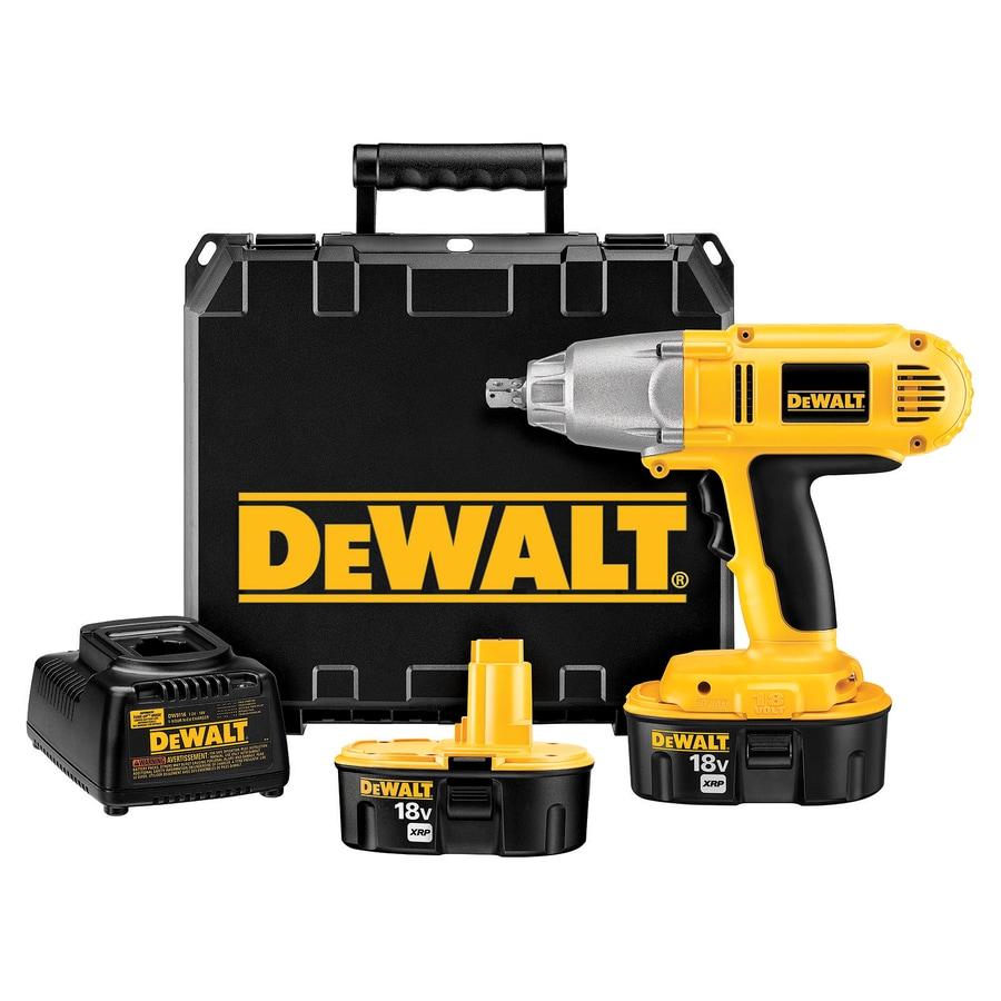 DEWALT 18-Volt-Volt 1/2-in Drive Cordless Impact Wrench 2