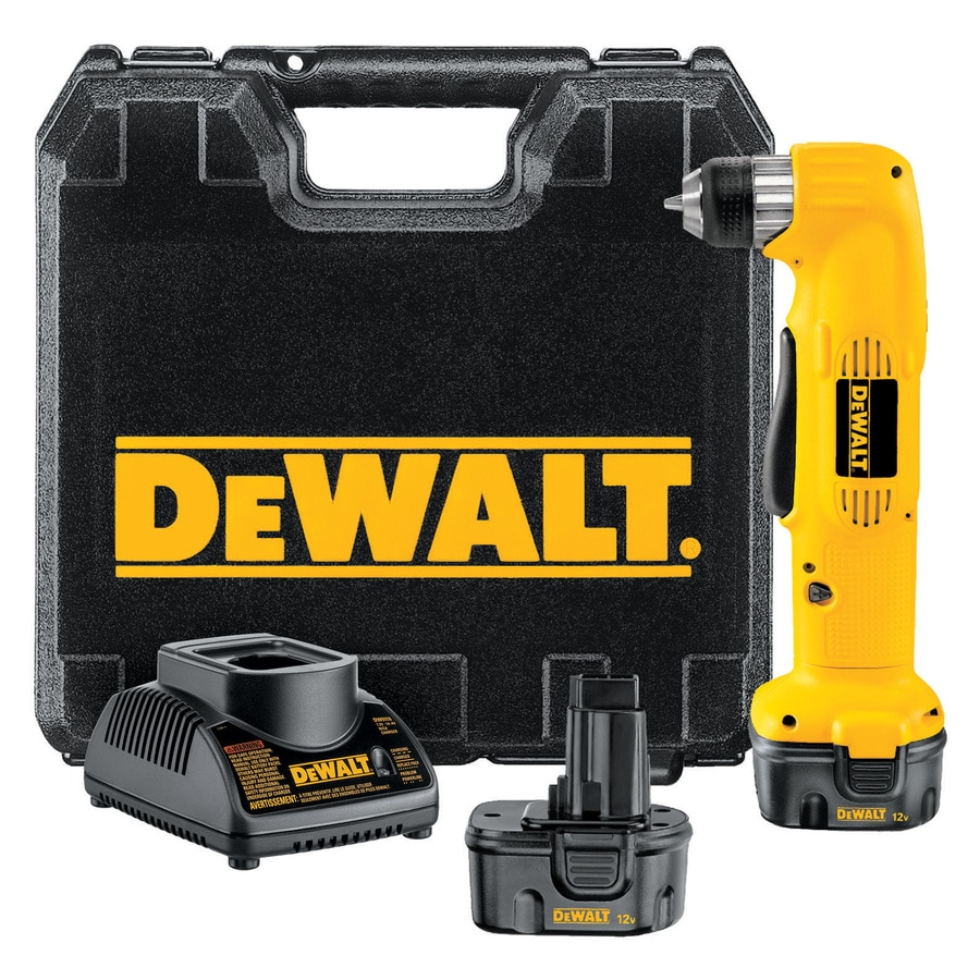 DEWALT 12-Volt 3/8-in Cordless Drill with Battery and Hard Case