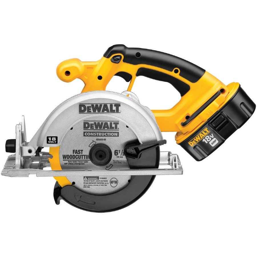 DEWALT 18 6-1/2-in Cordless Circular Saw (Battery Included)