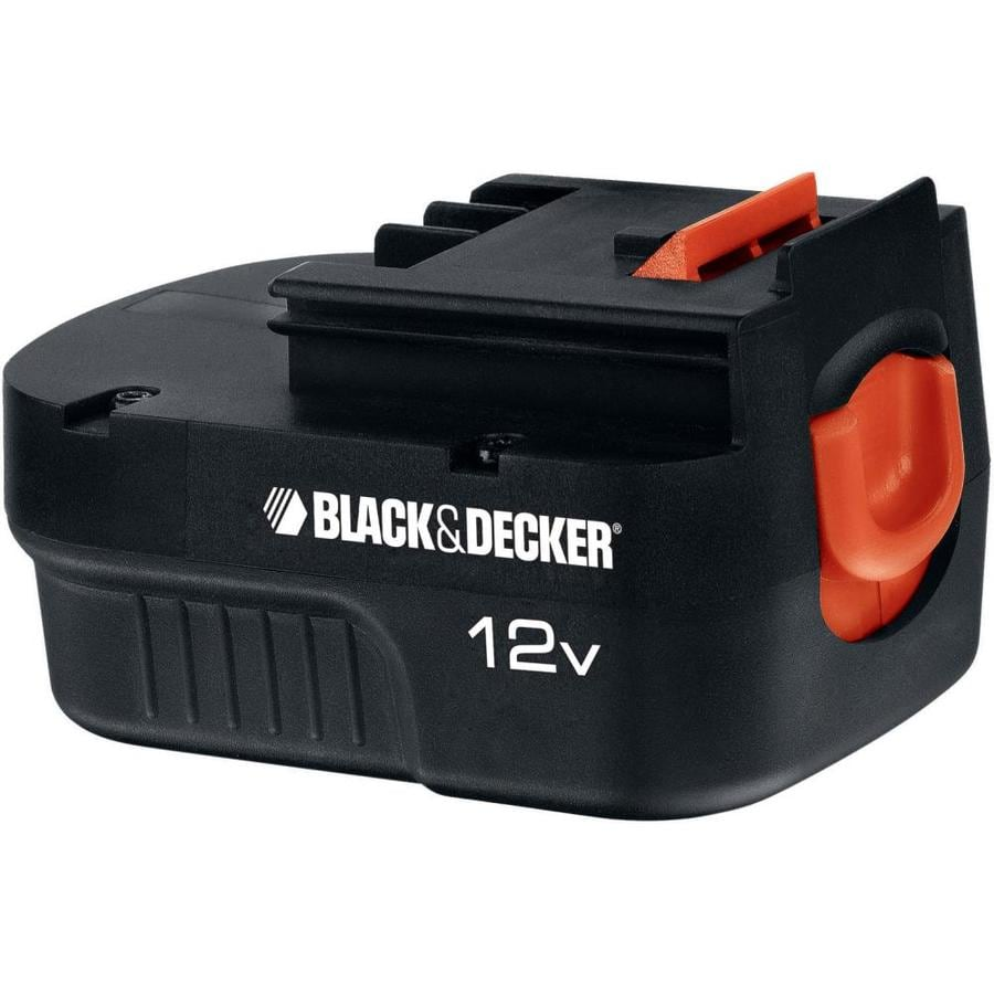 BLACK & DECKER 12-Volt 1.5-Amp-Hours Nickel Cadmium  Power Tool Battery Kit