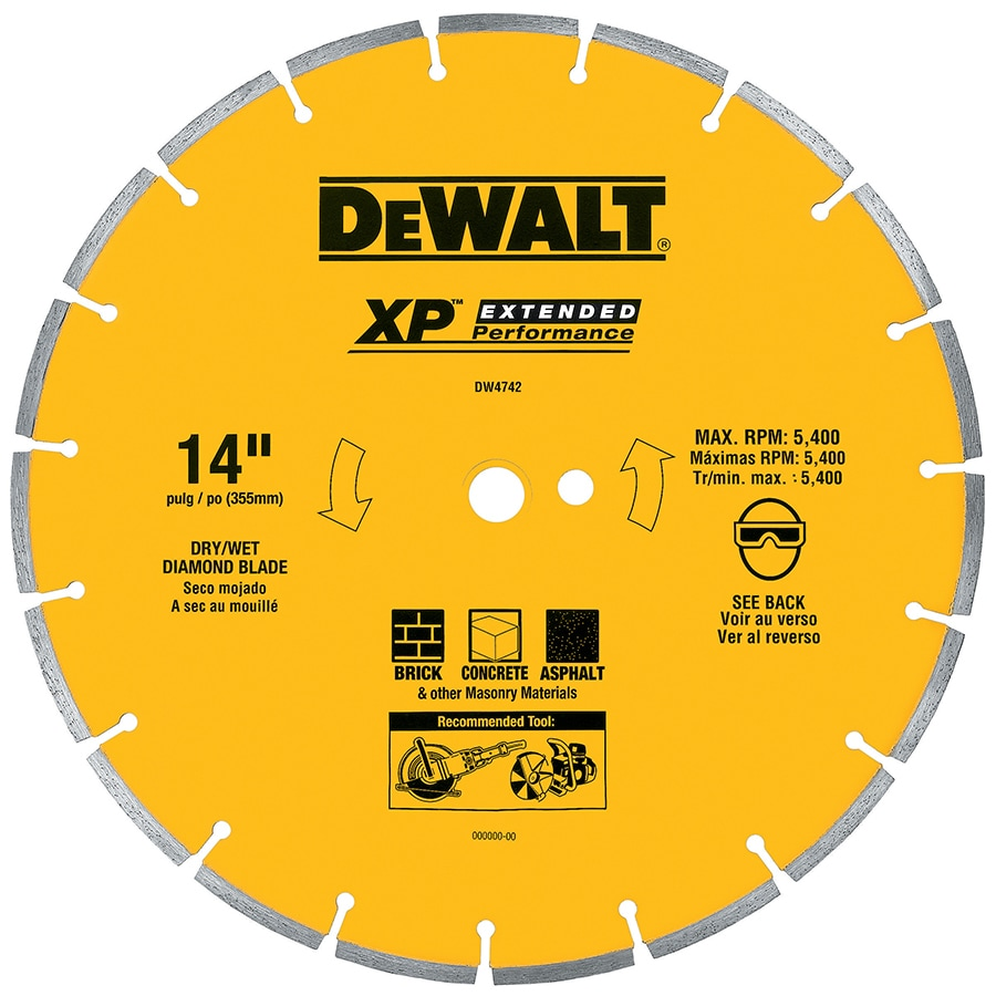 DEWALT 14-in Segmented Diamond Circular Saw Blade