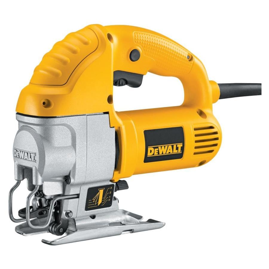 DEWALT 5.5-Amp Keyless U Shank Variable Speed Corded Jigsaw