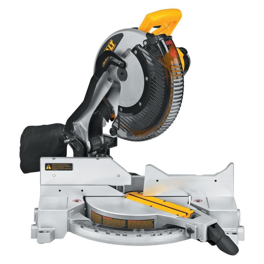 Shop miter saws at lowes dewalt 12 in 15 amp single bevel compound miter saw greentooth Choice Image