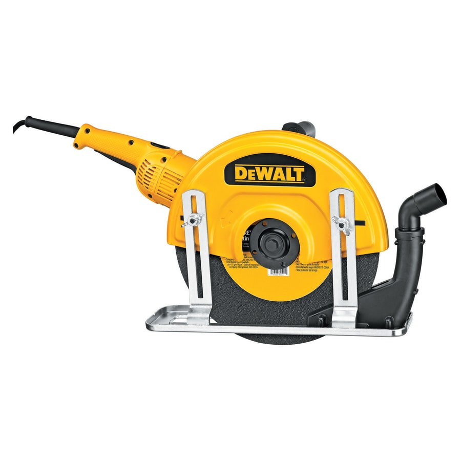 DEWALT 14-in 15-Amp Trigger Switch Corded Angle Grinder