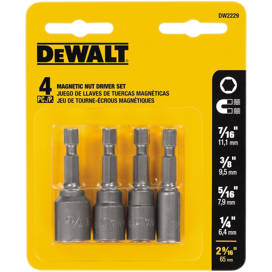 DEWALT 4-Piece Screwdriver Bit Set