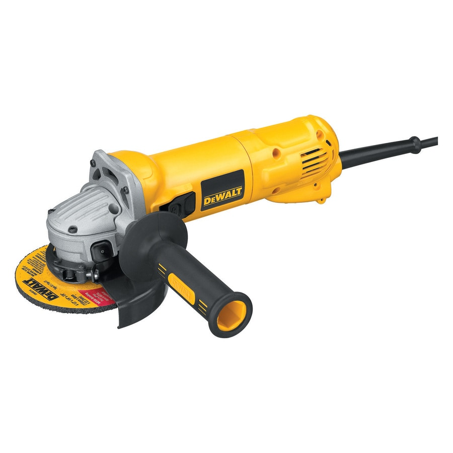 DEWALT 4-1/2-in 10-Amp Sliding Switch Corded Angle Grinder