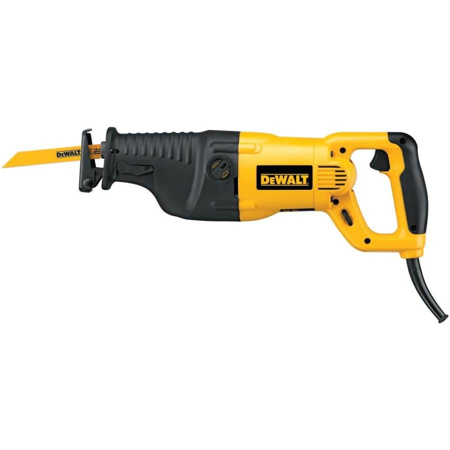 DEWALT 13-Amp Keyless Variable Speed Corded Reciprocating Saw