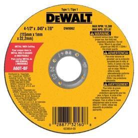 dado blade lowes. dewalt aluminum oxide 4.5-in 60-grit grinding wheel dado blade lowes