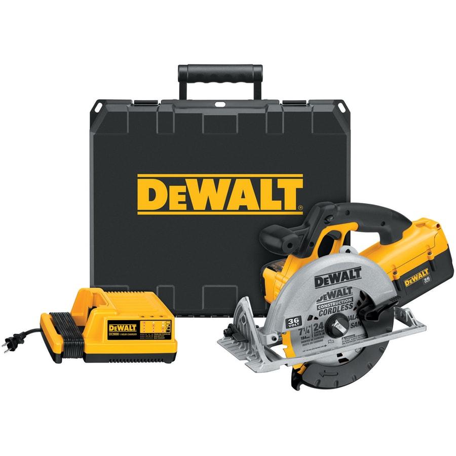 DEWALT 36-Volt 7-1/4-in Cordless Circular Saw with Brake