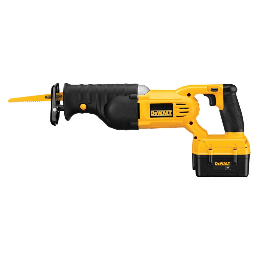 DEWALT 28-Volt Variable Speed Cordless Reciprocating Saw Battery Included