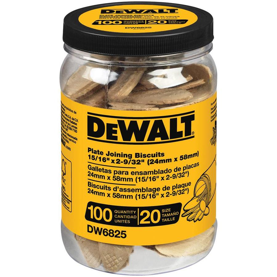 DEWALT Tube Of 100 No. 20 Size Biscuits