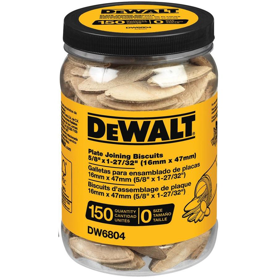 DEWALT 150-Count 0-Size Plate Joining Biscuits