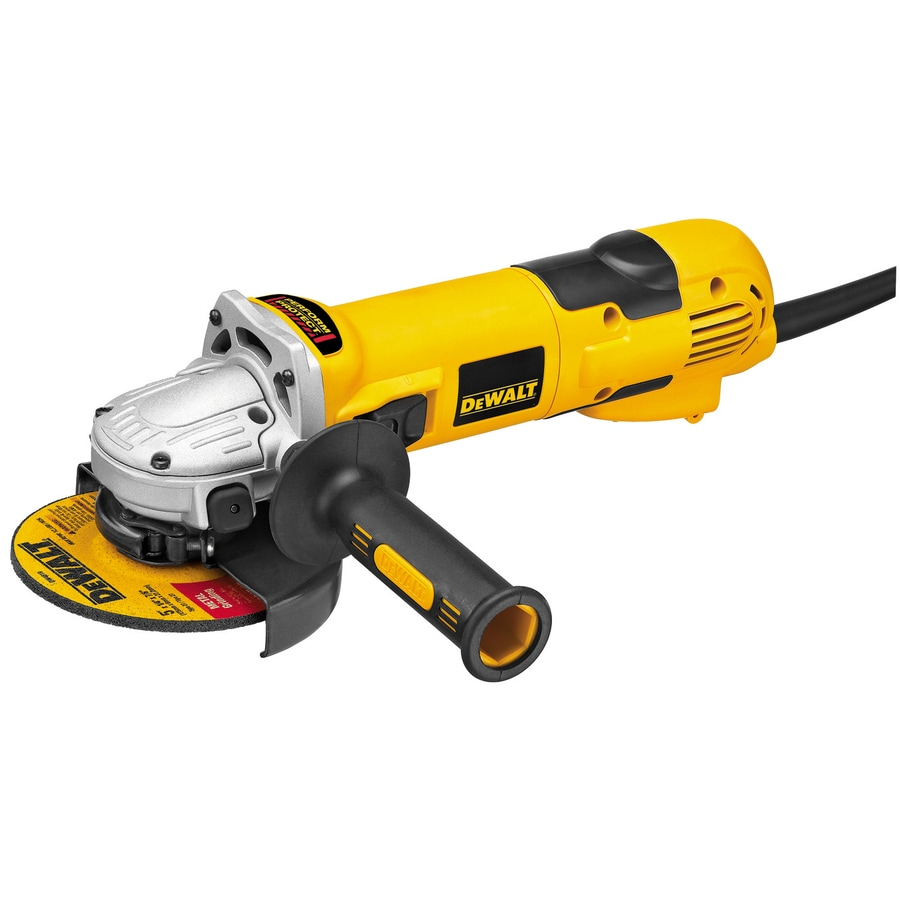 De Walt Electric Grinder ~ Shop dewalt in amp sliding switch corded angle