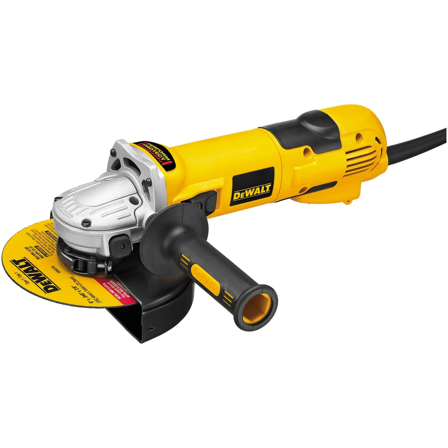 DEWALT 6-in 13-Amp Sliding Switch Corded Angle Grinder