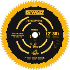 Dewalt Precision Trim 12 In 80 Tooth Carbide Miter Saw Blade