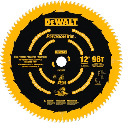 DEWALT Precision Trim 12-in 96-Tooth Segmented Carbide