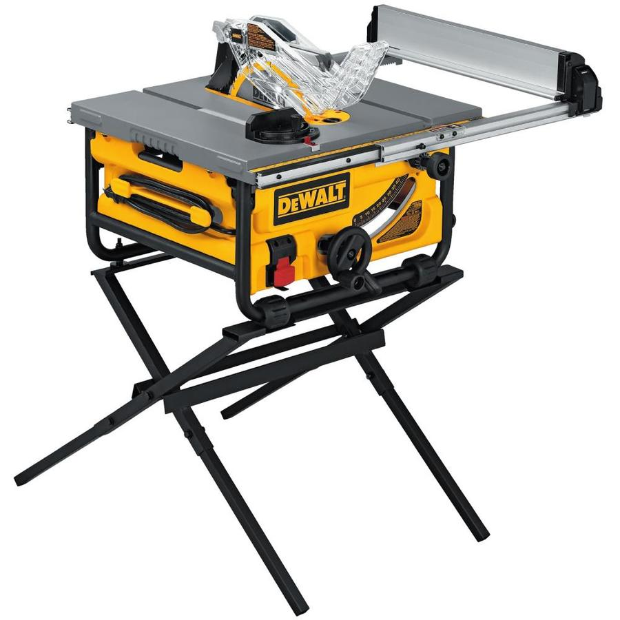 Shop dewalt 10 in carbide tipped 15 amp table saw at lowes dewalt 10 in carbide tipped 15 amp table saw greentooth Image collections