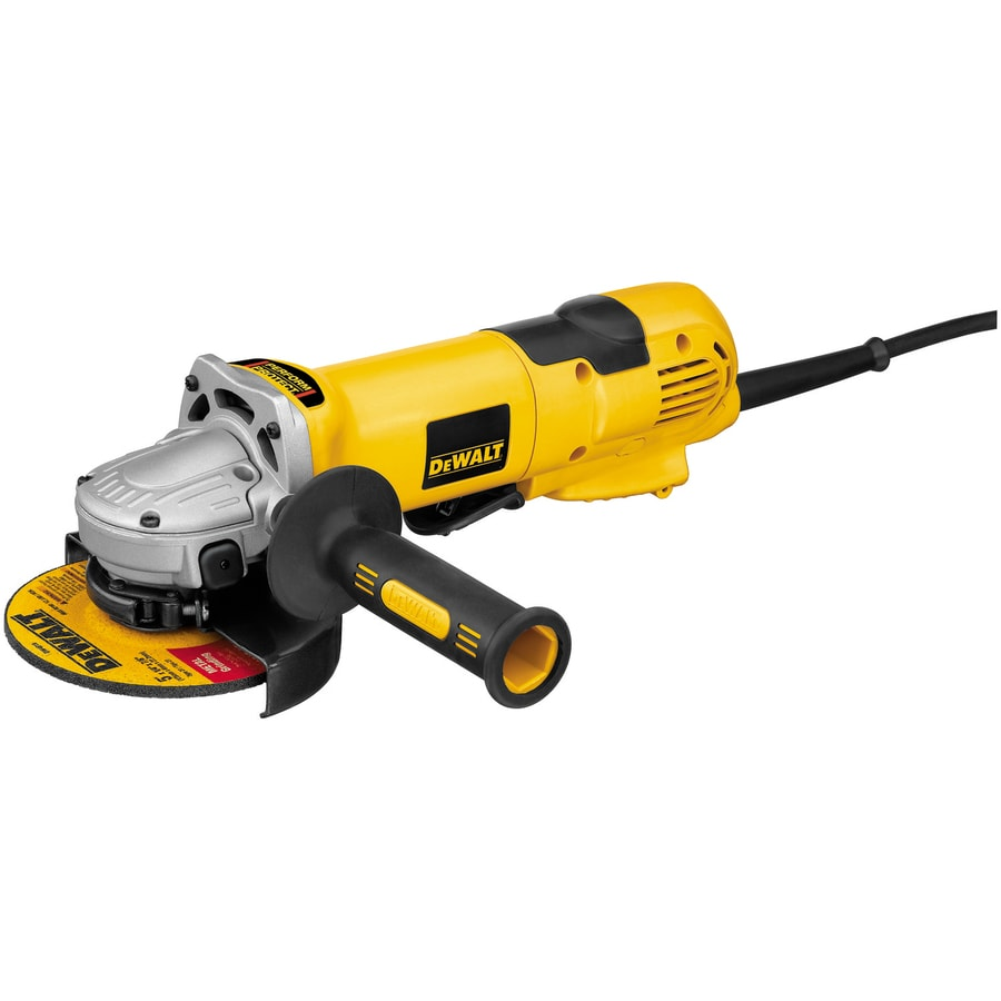 DEWALT 5-in 13-Amp Paddle Switch Corded Angle Grinder