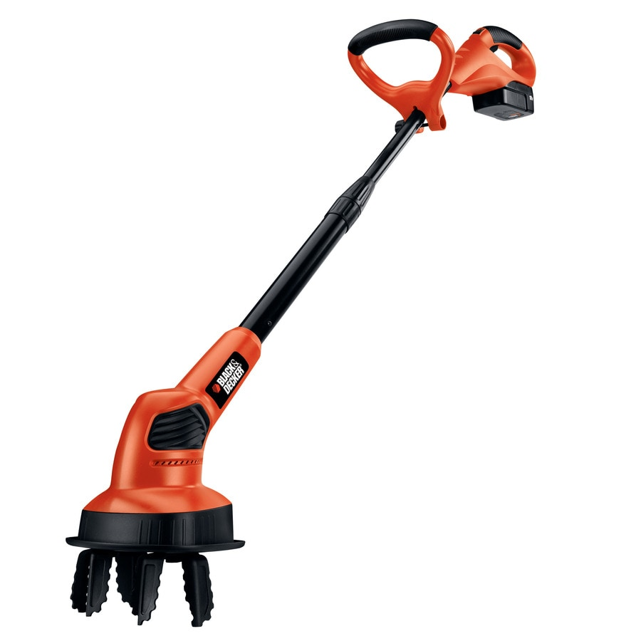 BLACK & DECKER 18-Volt Nickel Cadmium (NiCd) 7-in Cordless Electric Cultivator