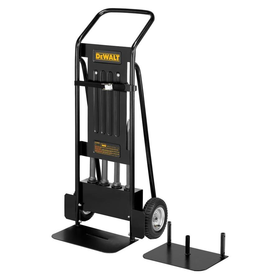 dewalt 400lb black steel heavy duty hand truck