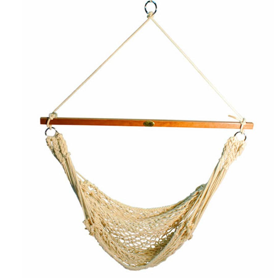 porch garden swing chair hammock geb cotton patio hanging importhubviewitem seat tree rope