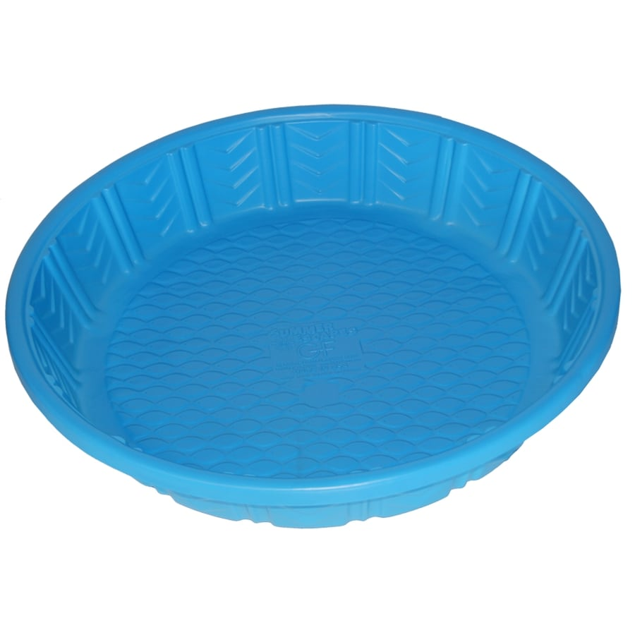 Shop Summer Escapes Poly Pool 4 Ft Polyethylene Round