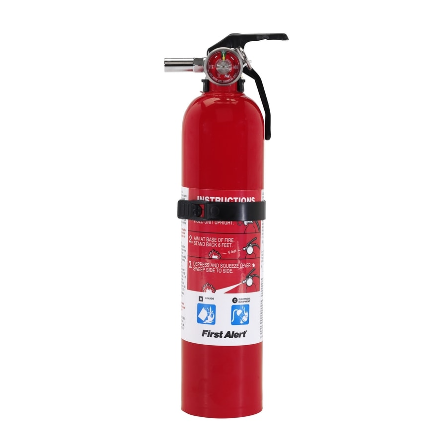 First Alert Rechargeable Kitchen Fire Extinguisher At