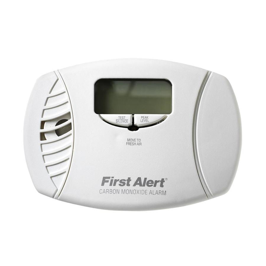 First Alert DC Plug-In Carbon Monoxide Detector Battery Back-Up