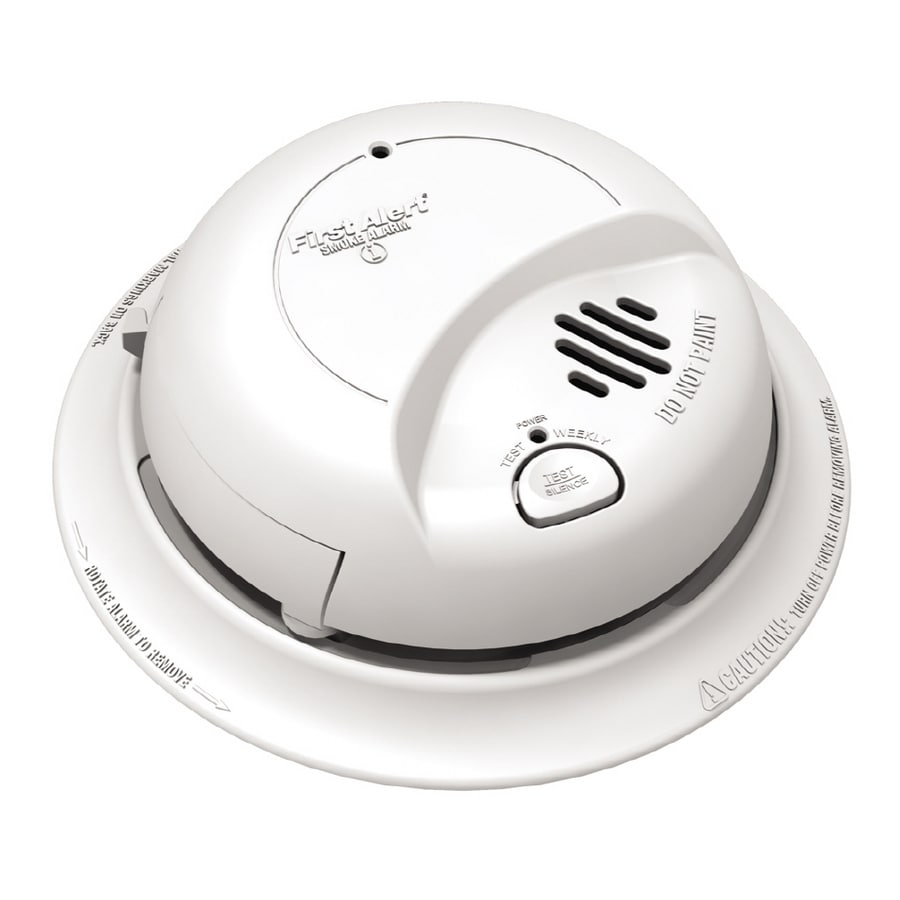 Shop First Alert Ac Hardwired 120 Volt Smoke Detector At 2wire Wiring Diagram